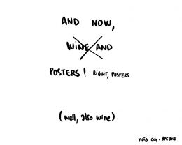 Wine & Posters